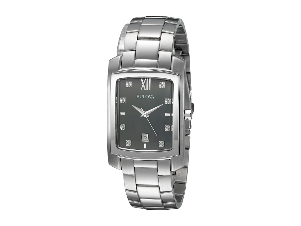 Bulova Diamonds 96D125 White Watches