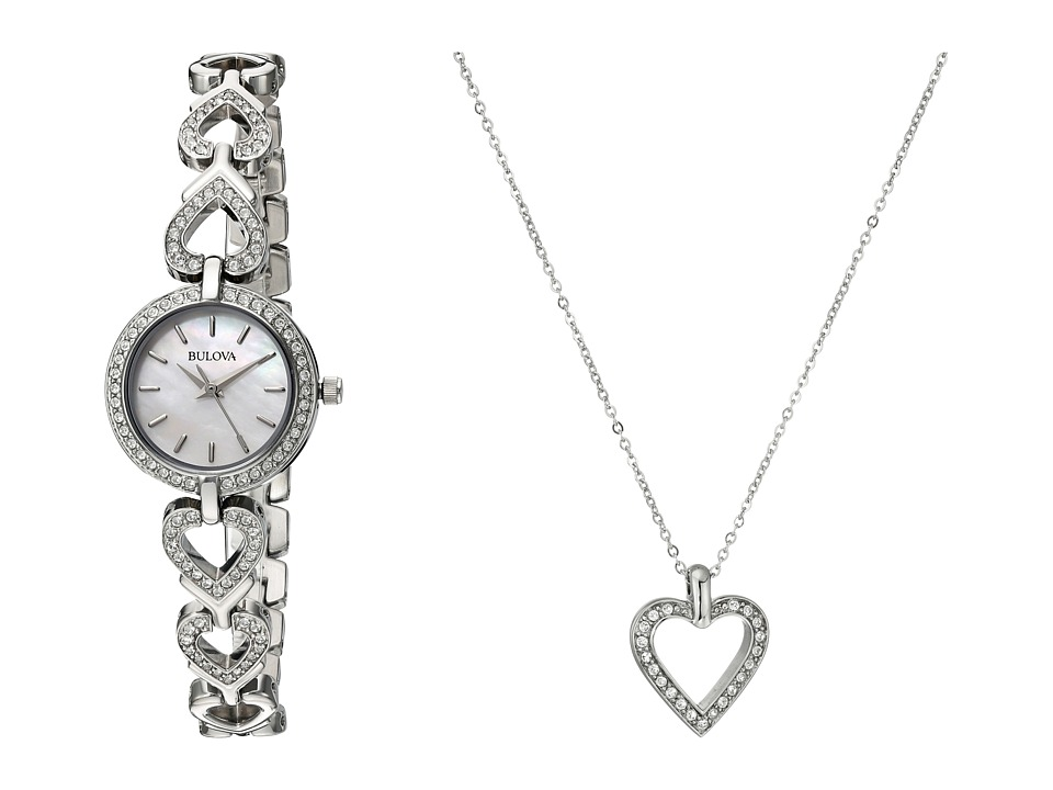 Bulova Crystal 96X136 White Watches
