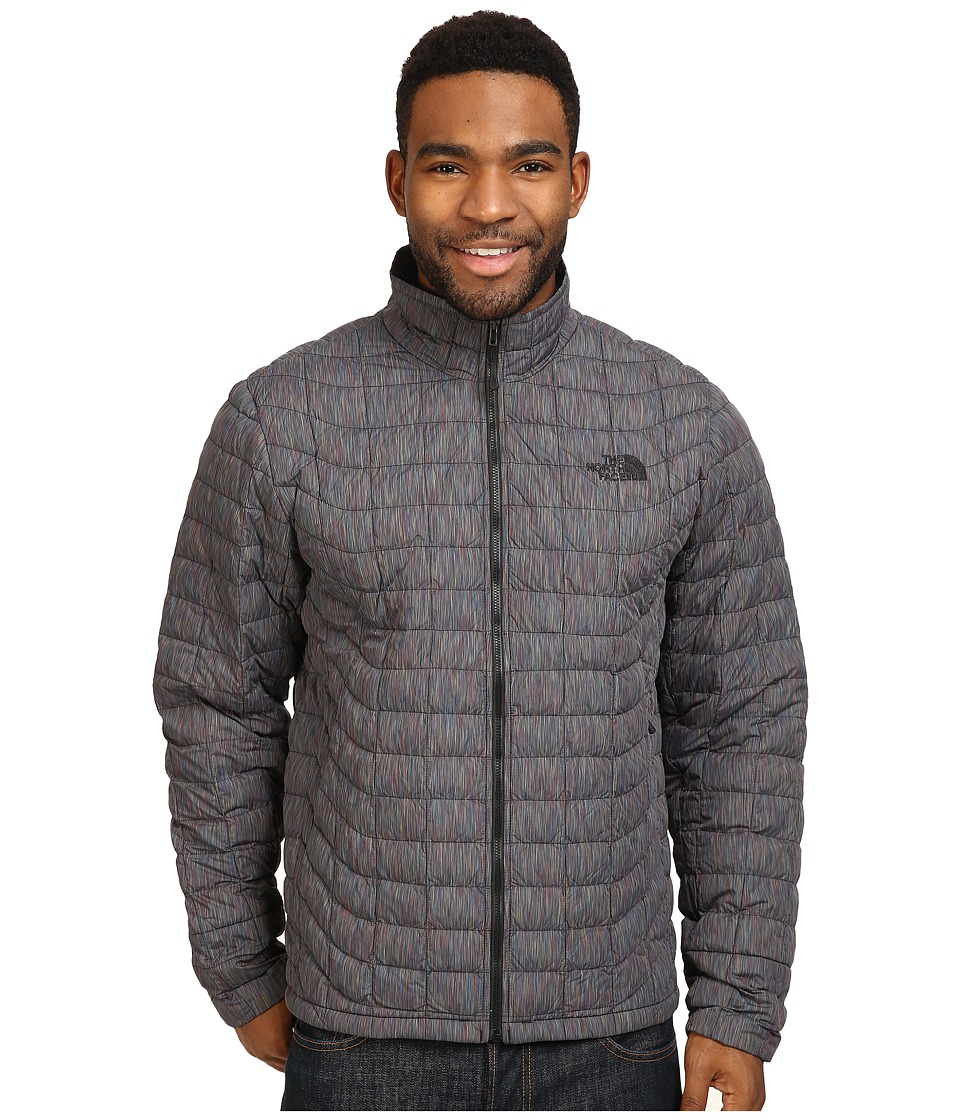 The North Face - ThermoBall Full Zip Jacket (Tnf Black Multicolor) Men