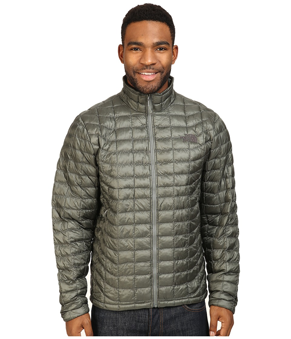 The North Face - ThermoBall Full Zip Jacket (Fusebox Grey) Men