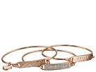 GUESS Dainty ID Bracelet Trio