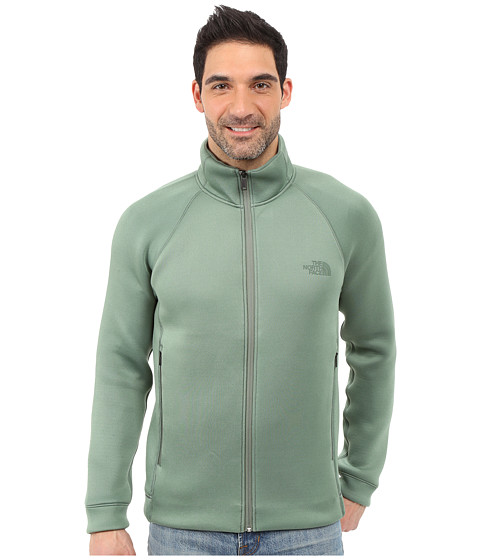 The North Face Upholder Full Zip - Duck Green Heather