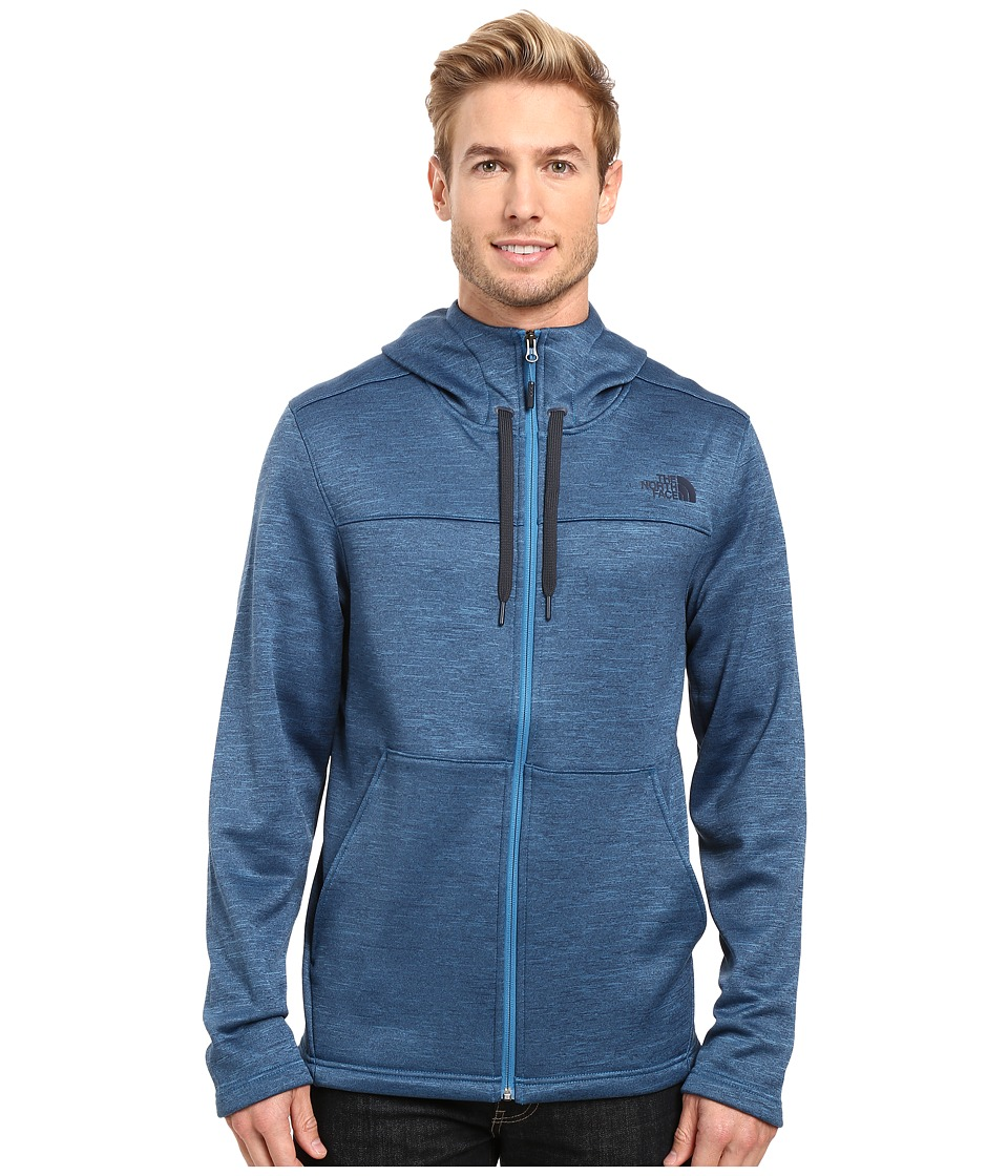 The North Face Schenley Hoodie (Banff Blue Heather (Prior Season)) Men