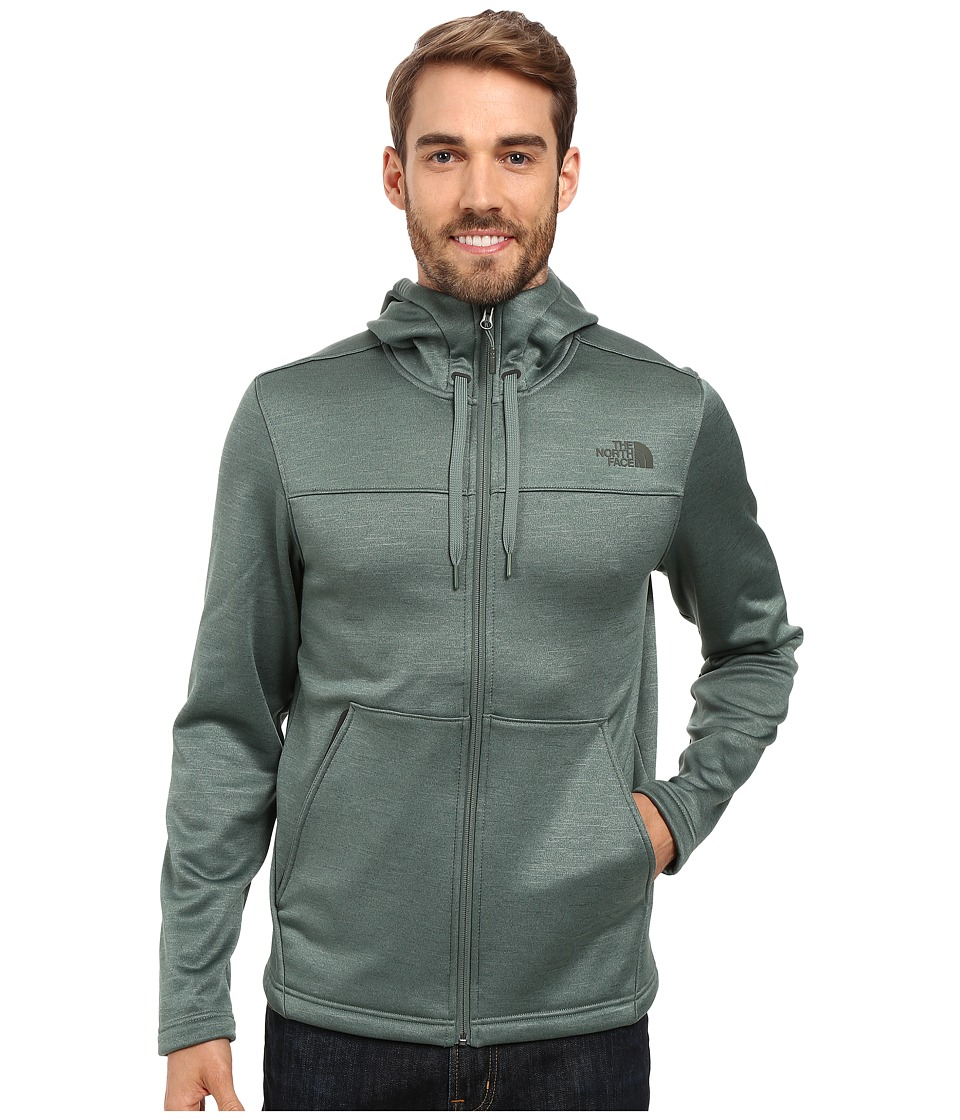 The North Face Schenley Hoodie (Duck Green Heather) Men