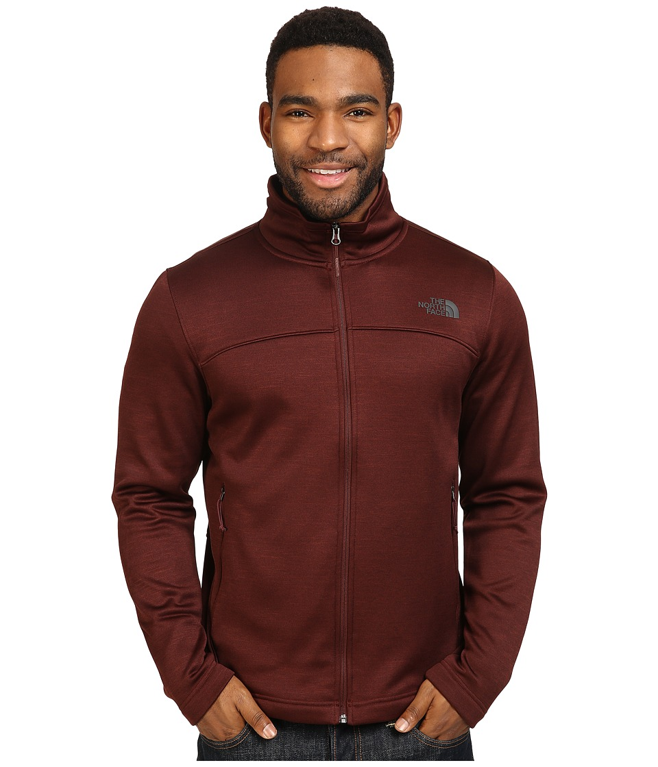 The North Face Schenley Full Zip (Sequoia Red Heather) Men