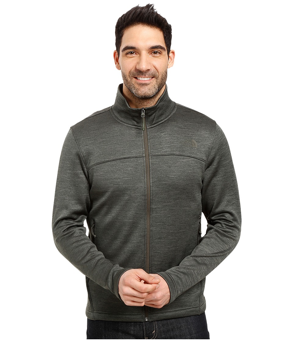 The North Face Schenley Full Zip (Climbing Ivy Green Heather) Men
