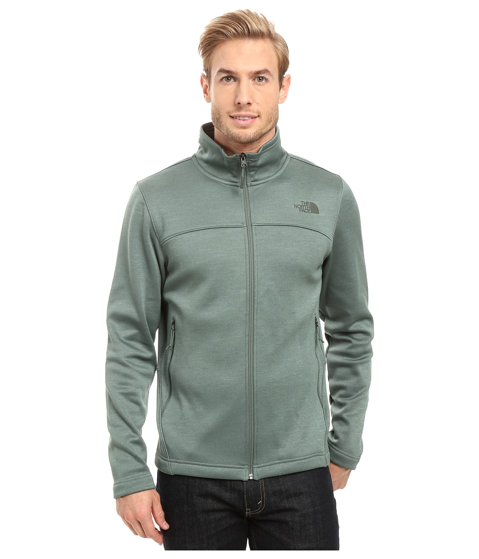 The North Face Schenley Full Zip (Duck Green Heather) Men