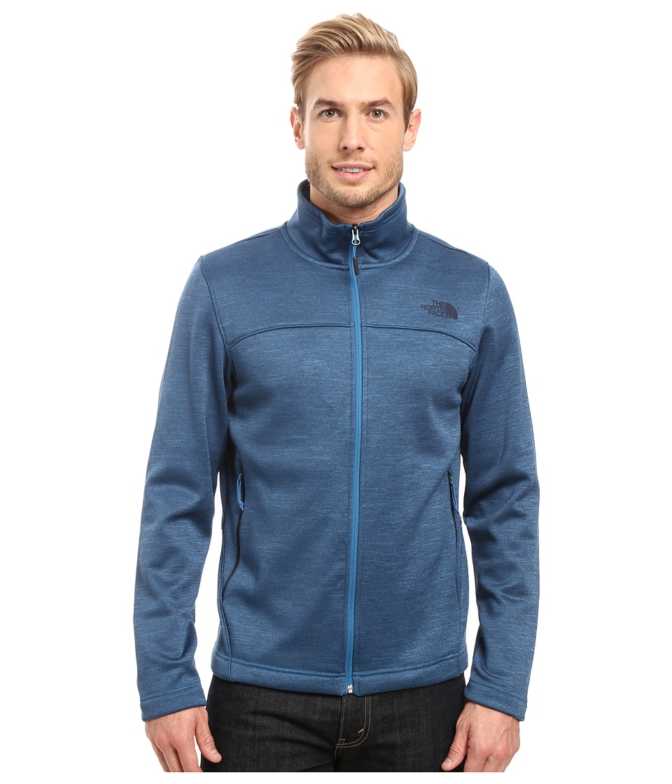 The North Face Schenley Full Zip (Banff Blue Heather) Men