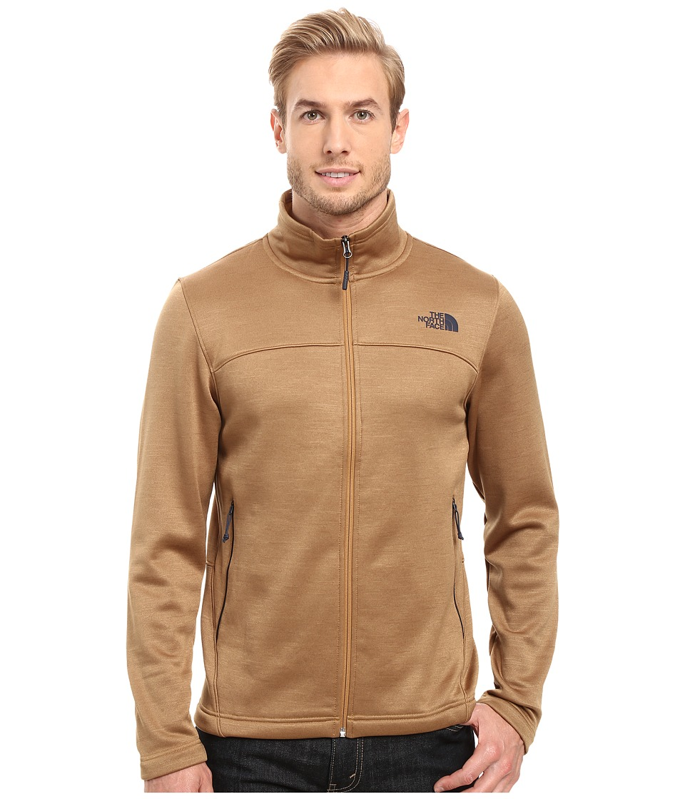 The North Face Schenley Full Zip (Dijon Brown Heather) Men