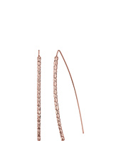 GUESS - Pave Bent Stick On Wire Earrings