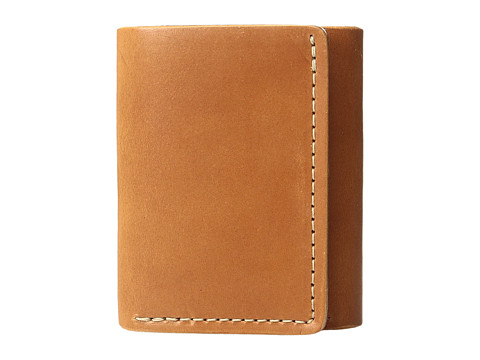 Filson Trifold Wallet - Tan Leather