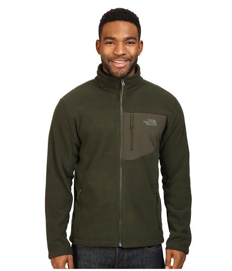 The North Face Chimborazo Full Zip Fleece - Rosin Green/Rosin Green