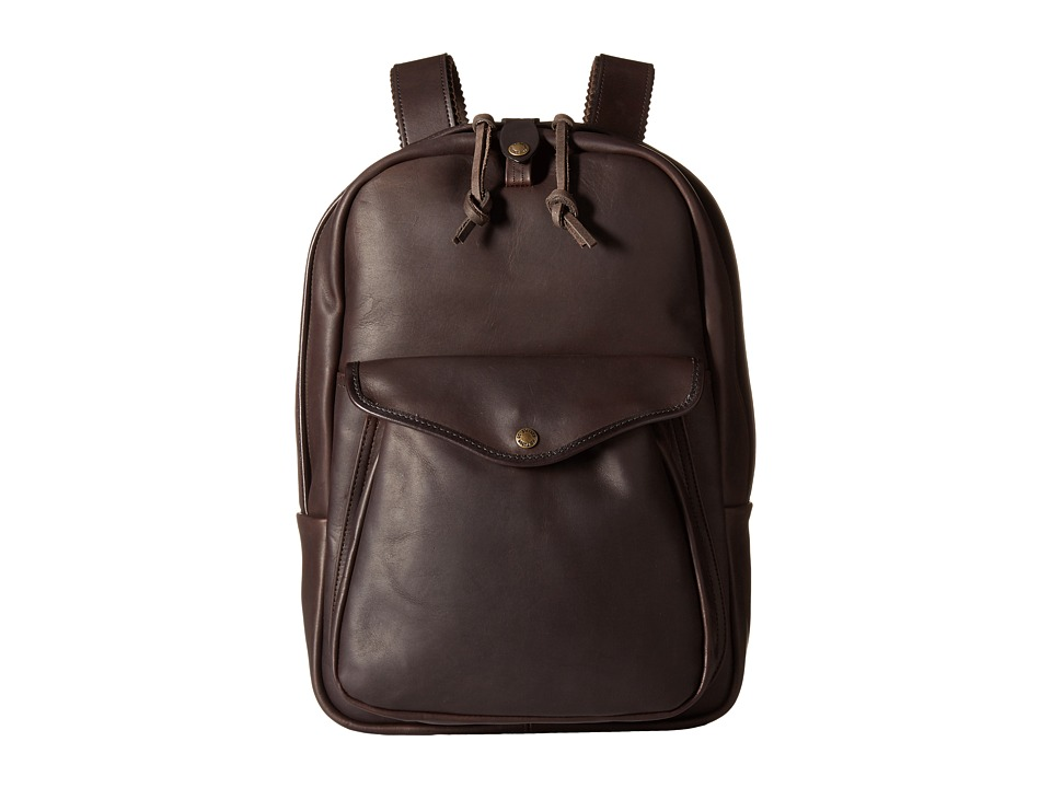 Filson - Weatherproof Journeyman Backpack (Sierra Brown) Backpack Bags