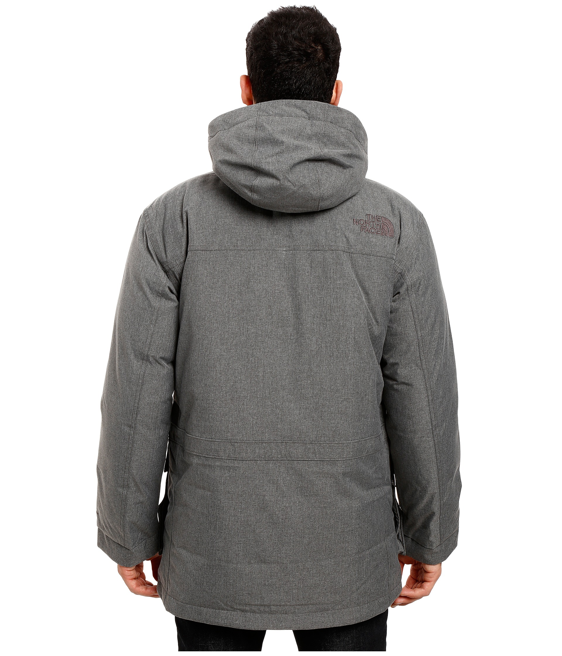 the north face mcmurdo parka ii tnf medium grey heather free shipping both ways. Black Bedroom Furniture Sets. Home Design Ideas