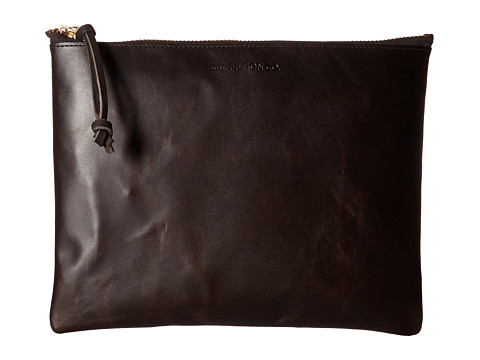 Filson Large Leather Pouch - Brown
