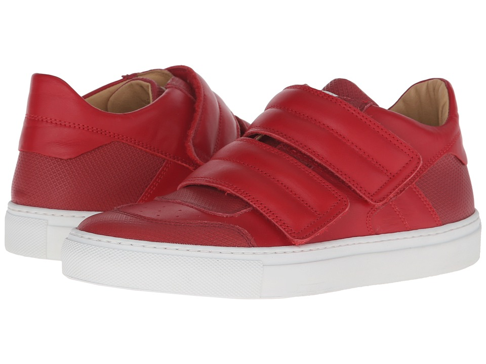 MM6 Maison Margiela Low Top Red/Red Calf Womens Shoes