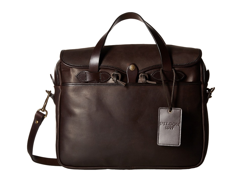 Filson - Weatherproof Original Briefcase (Sierra Brown) Briefcase Bags