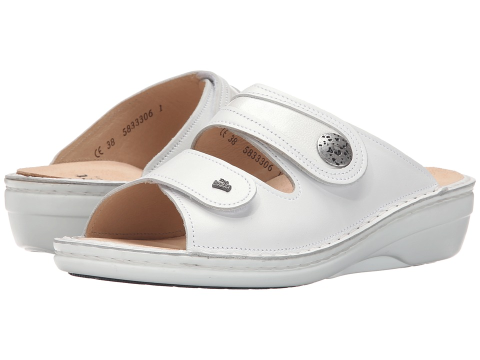 Finn Comfort Mira White Womens Sandals