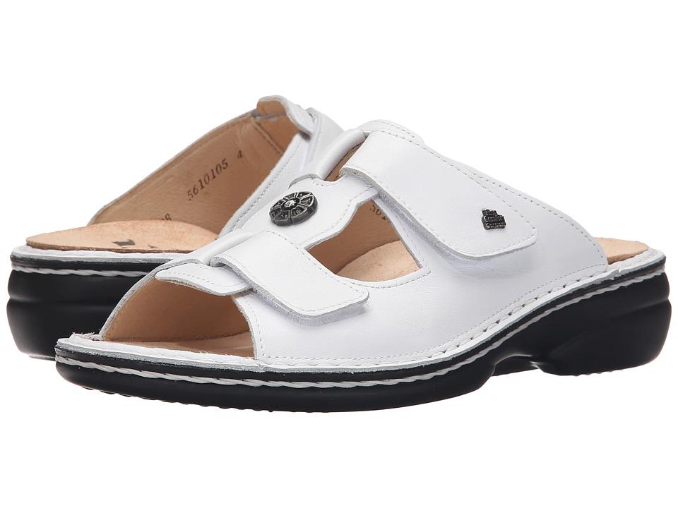 Finn Comfort Pattaya 2558 White Womens Sandals
