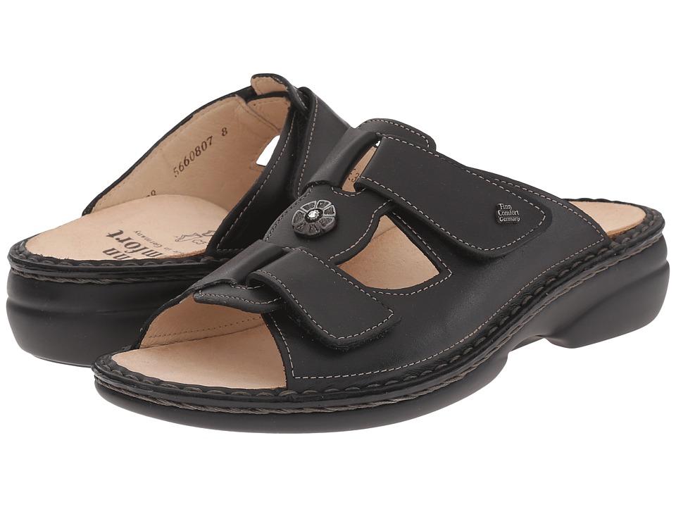 Finn Comfort Pattaya 2558 (Black) Sandals