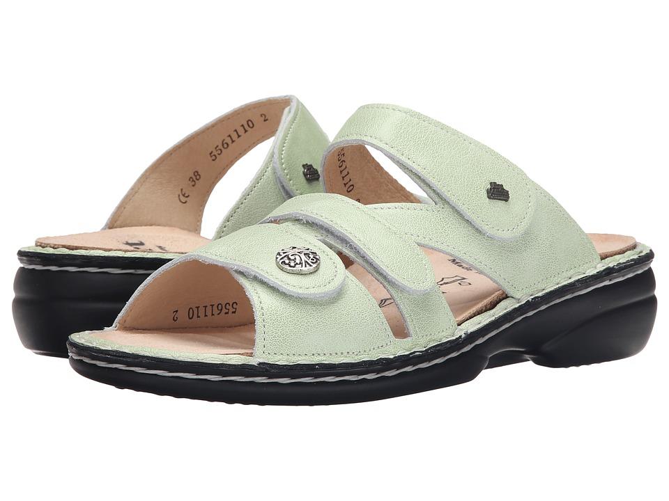 Finn Comfort Soft Ventura 82568 Mint Womens Slide Shoes