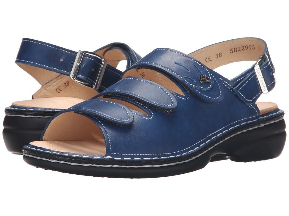Finn Comfort Saloniki 82557 Bluette Womens Sandals
