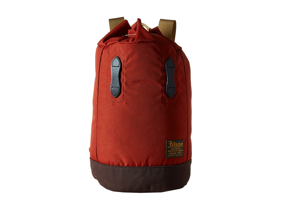 Filson Small Pack (Rusted Red) Bags