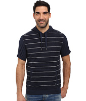 Calvin Klein Jeans - Striped Short Sleeve Terry Hoodie