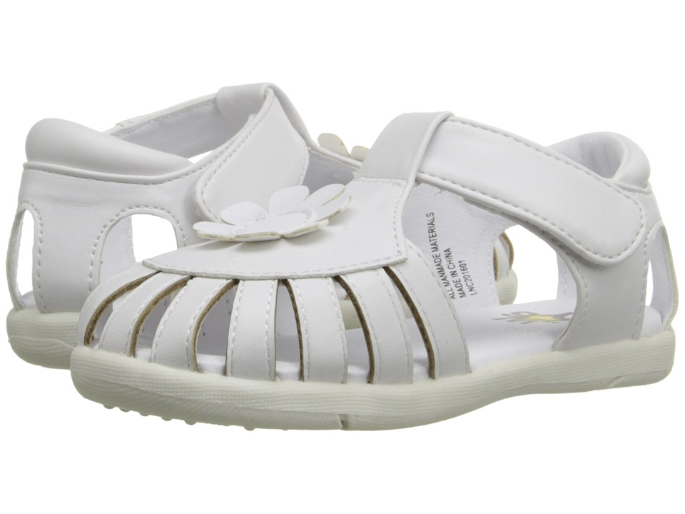 W6YZ Gail Toddler White Girls Shoes