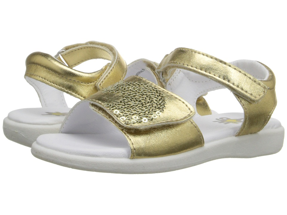 W6YZ Leah Toddler/Little Kid Gold Girls Shoes