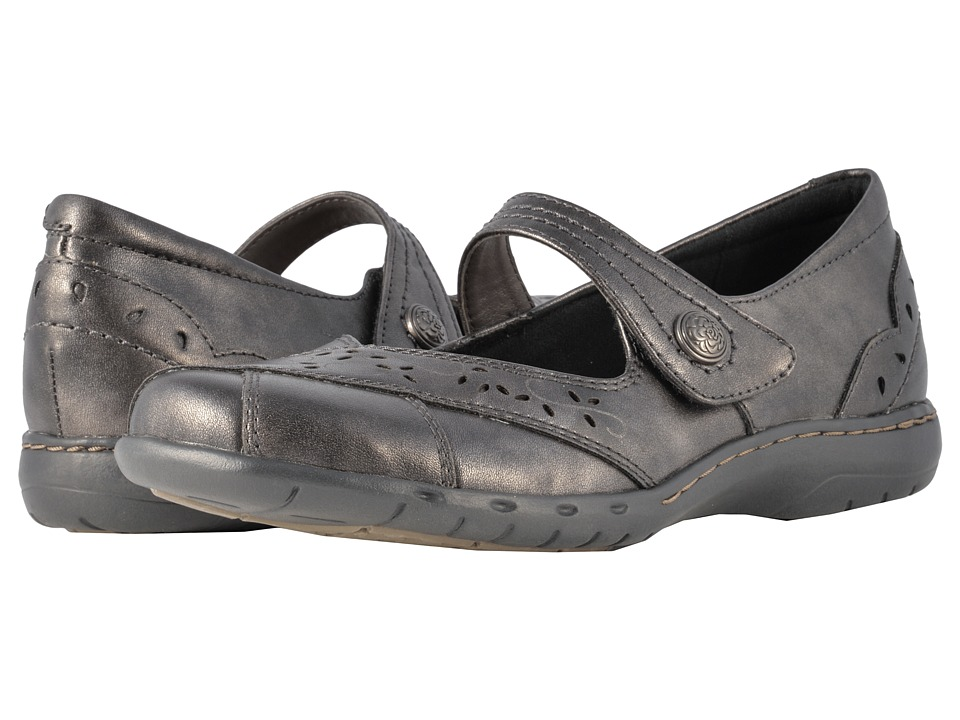 Rockport Cobb Hill Collection - Cobb Hill Petra (Pewter) Womens Maryjane Shoes