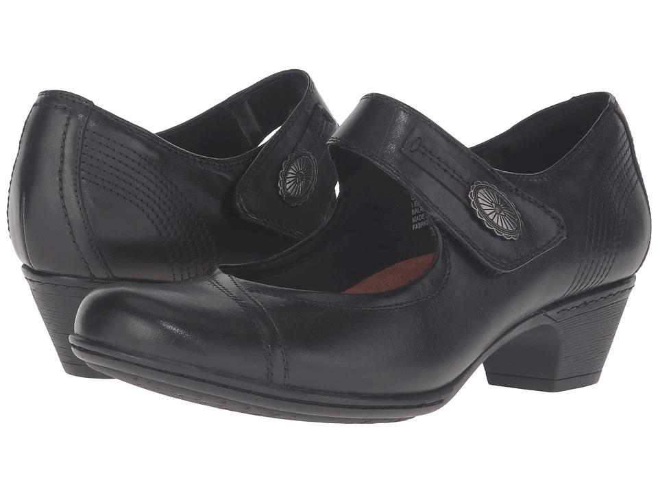 Rockport Cobb Hill Collection - Cobb Hill Abigail (Black) Womens Maryjane Shoes