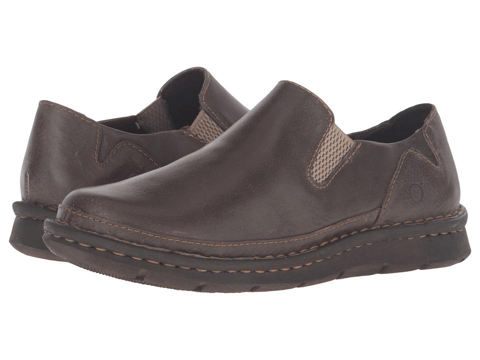 Born Azuma (Gris Full Grain Leather) High Heels