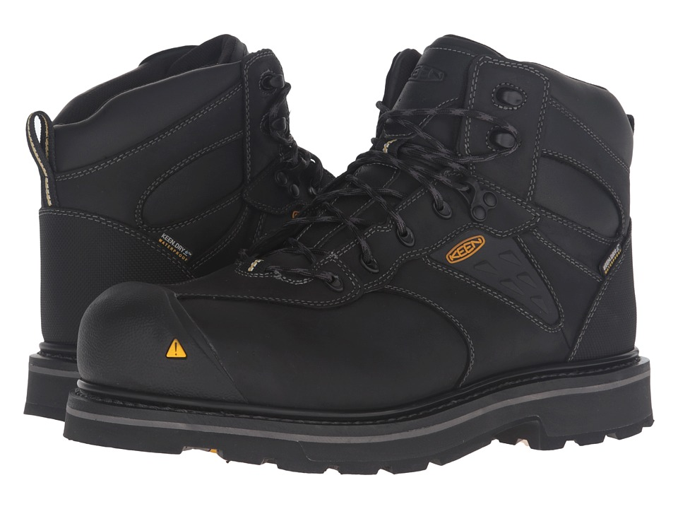 Keen Utility - Tacoma WP (Black) Men's Work Boots
