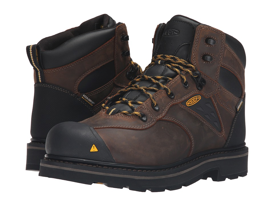 Keen Utility Tacoma Soft Toe WP (Cascade Brown) Men