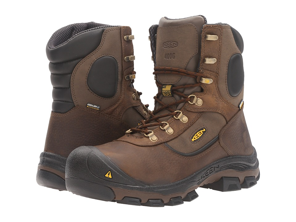 Keen Utility Leavenworth 400g (Cascade Brown) Men