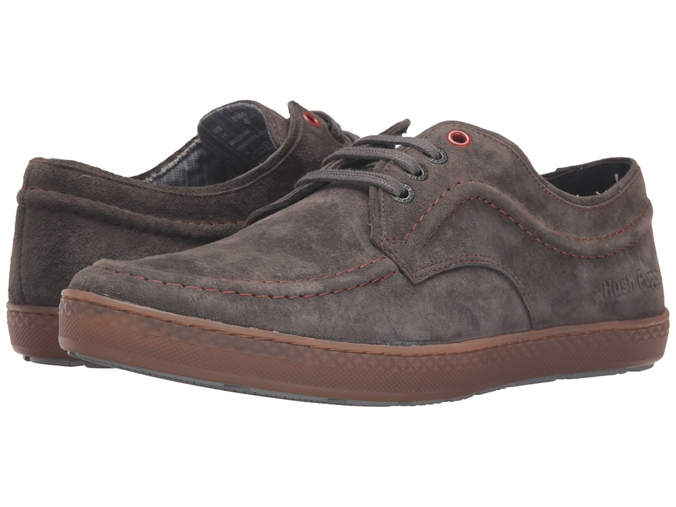 Hush Puppies - Teague Roadcrew (Grey Suede/Gum) Men
