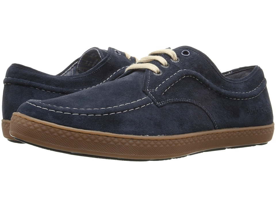 Hush Puppies - Teague Roadcrew (Navy Suede/Gum) Men