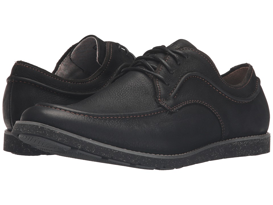 Hush Puppies - Hade Jester (Black Leather) Men