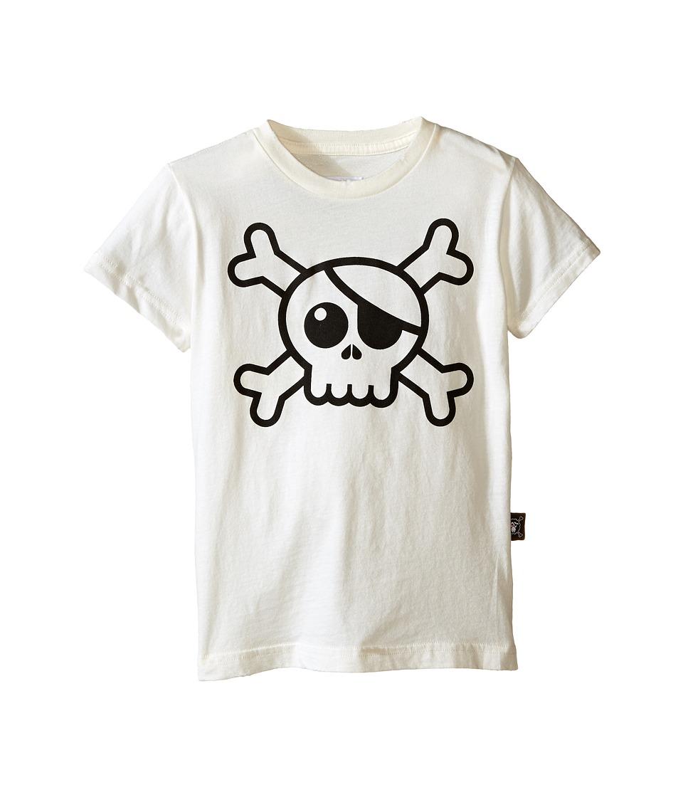 Nununu Big Skull T Shirt Infant/Toddler/Little Kids White Kids T Shirt