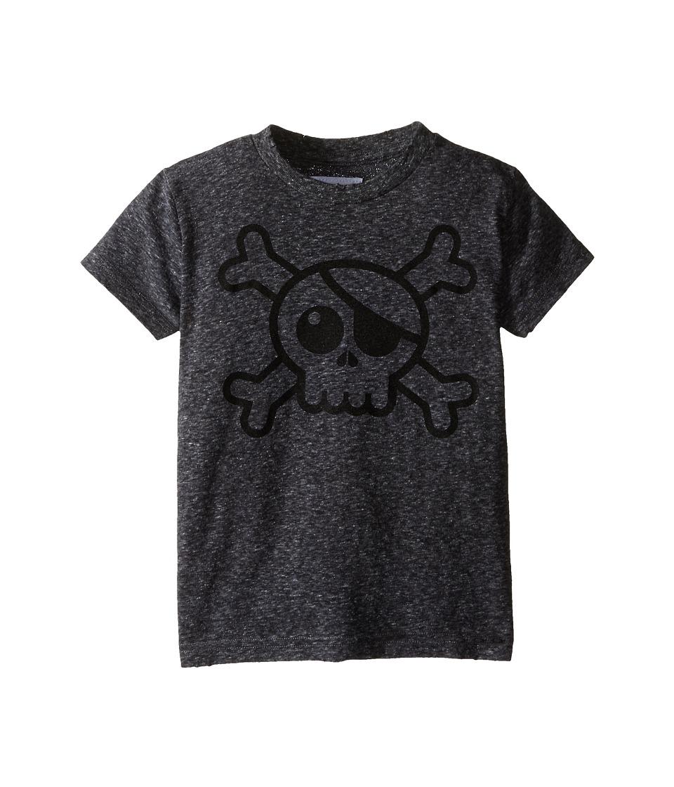 Nununu Big Skull T Shirt Infant/Toddler/Little Kids Charcoal Kids T Shirt