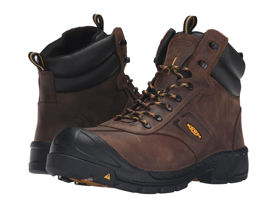 Keen Utility - Warren ESD (Dark Earth) Men's Work Boots