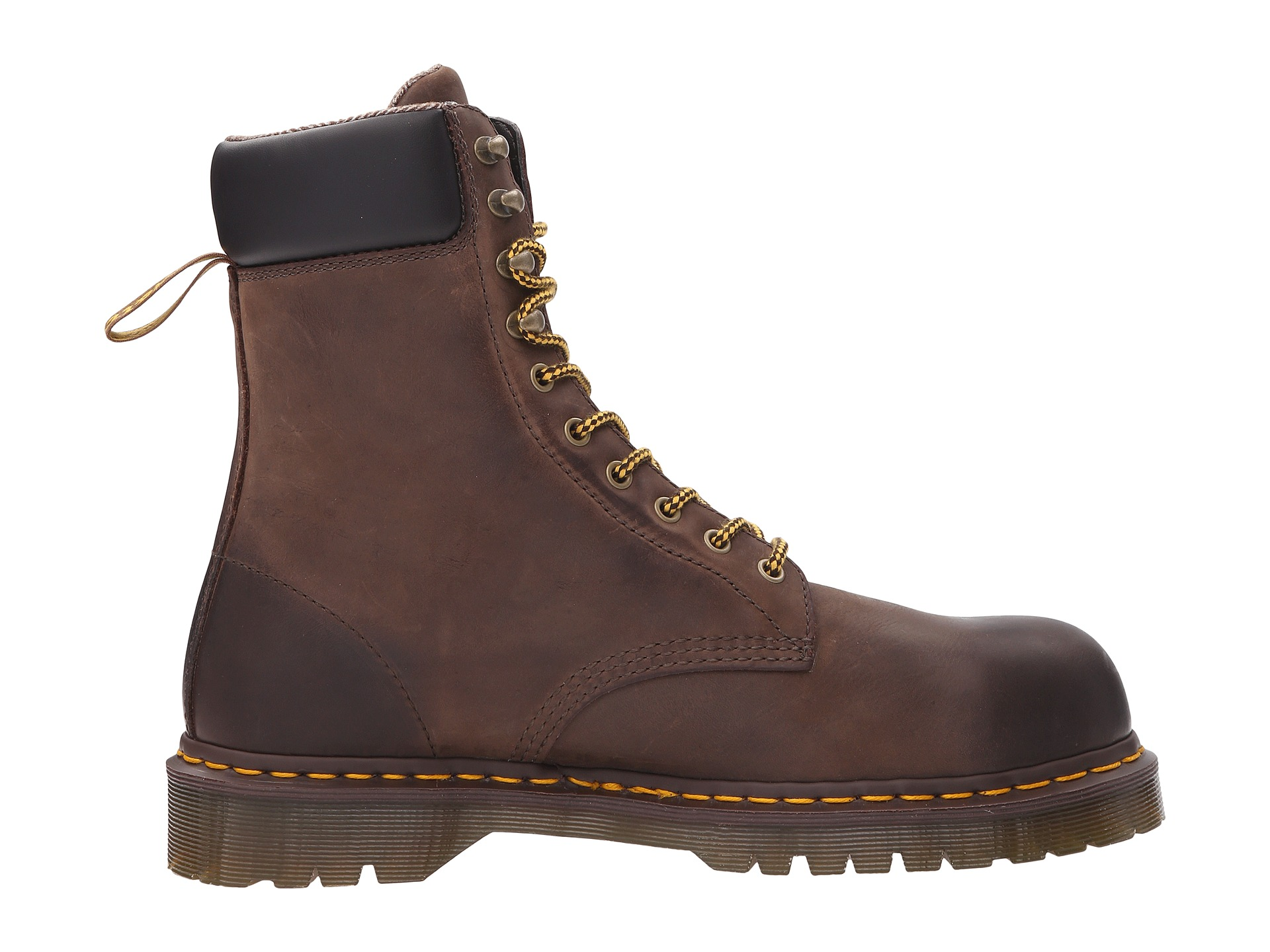 Fashionable steel toe work boots 96