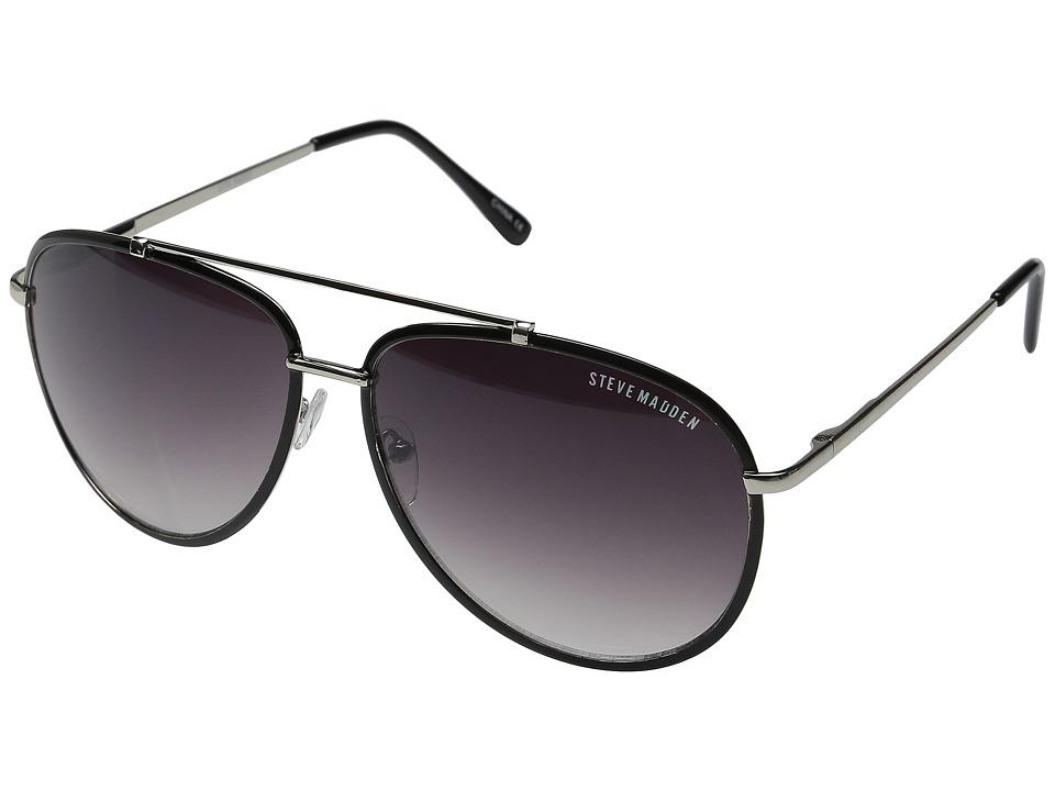 Steve Madden Olivia Black Fashion Sunglasses