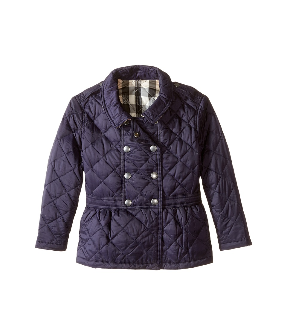 Burberry Kids - Portree Quilted Coat (Infant/Toddler) (Mi...