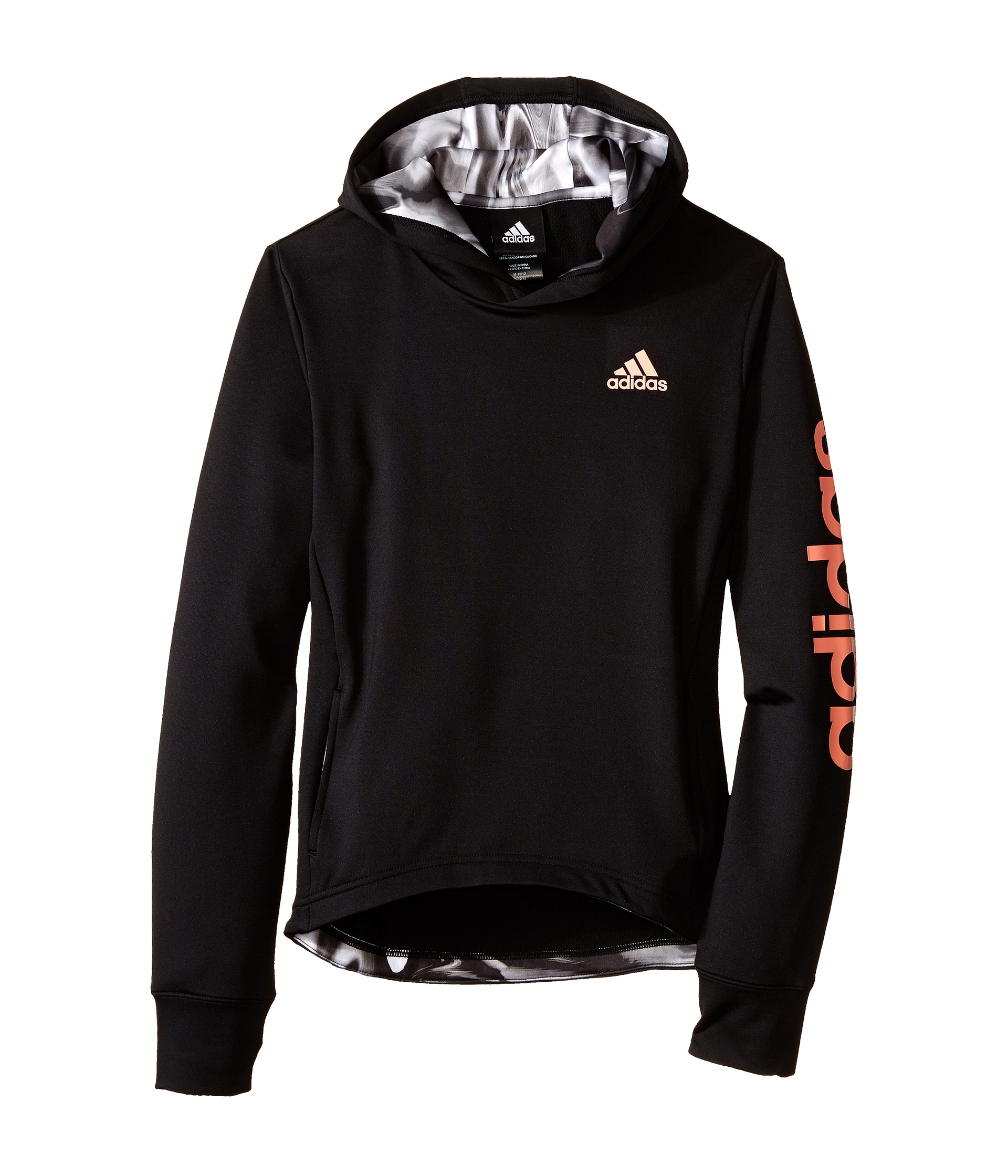 adidas kids pullover hi lo hoodie big kids. Black Bedroom Furniture Sets. Home Design Ideas