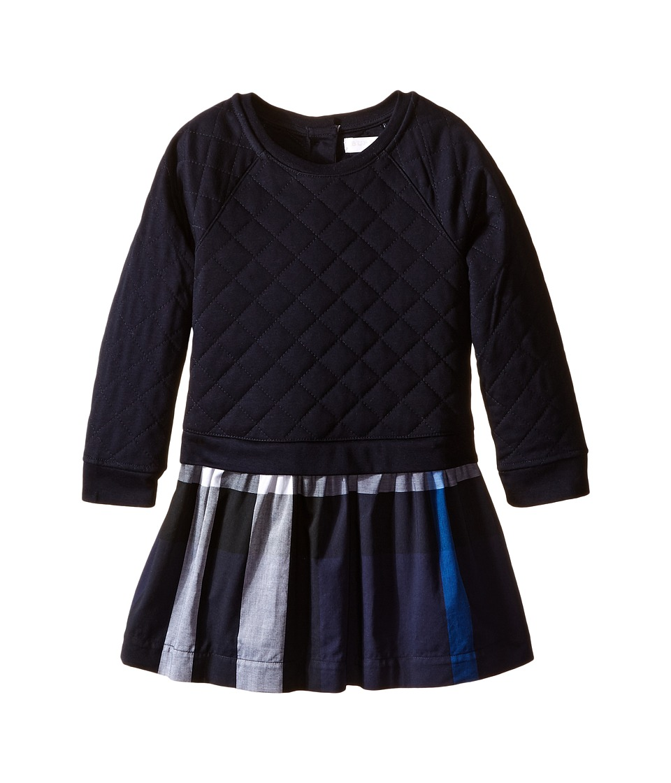 Burberry Kids - Orlia Dress (Infant/Toddler) (Navy) Girl'...