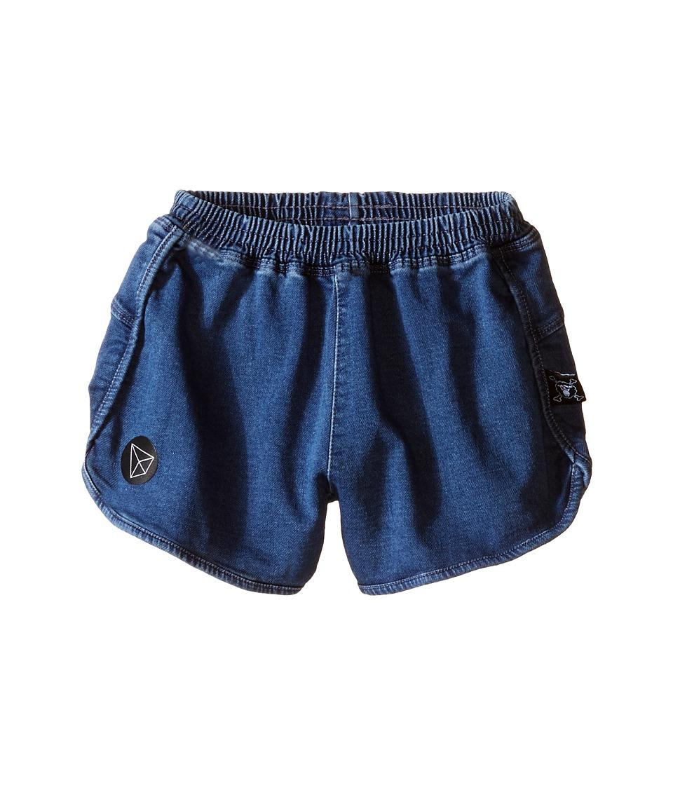 Nununu Denim Gym Shorts Infant/Toddler/Little Kids Denim Kids Shorts