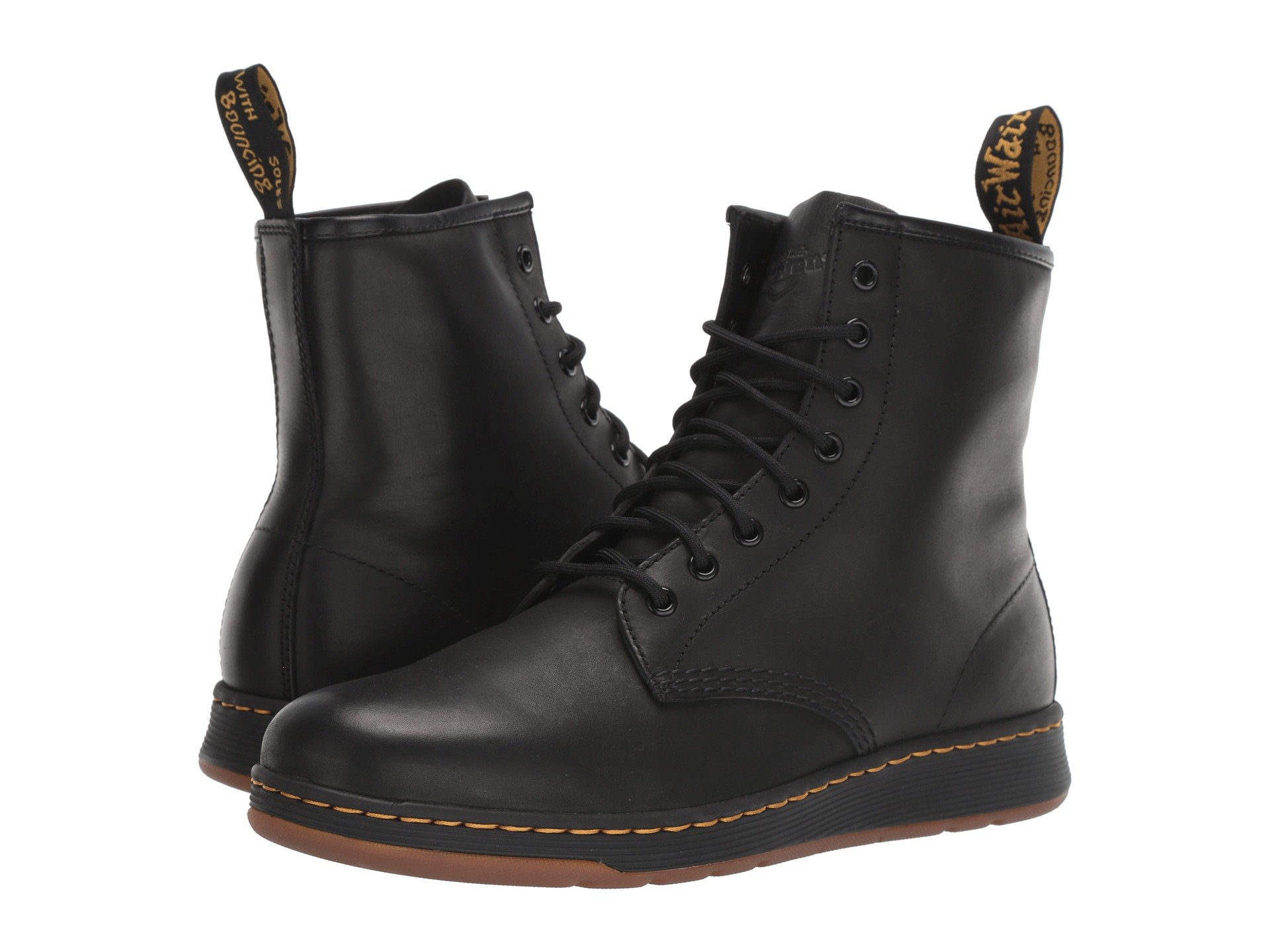 Dr Martens Newton 8 Eye Boot At Zapposcom