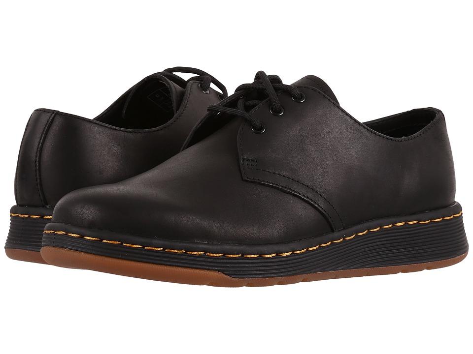 Dr. Martens Cavendish 3-Eye Shoe (Black Temperley) Lace up casual Shoes